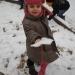 La neige à l'école