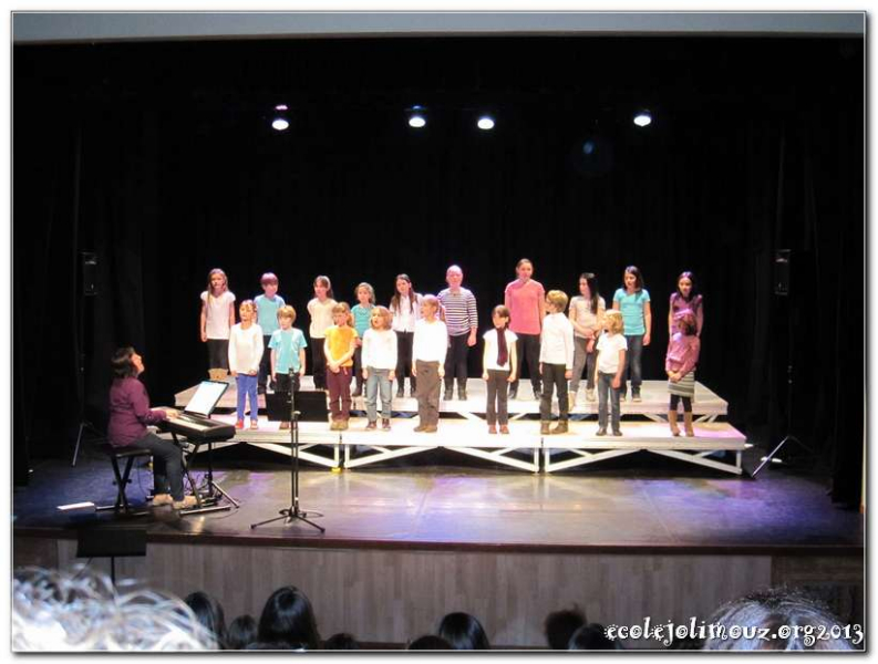 Rencontre des Chorales à Basse-Goulaine 10/04/2013