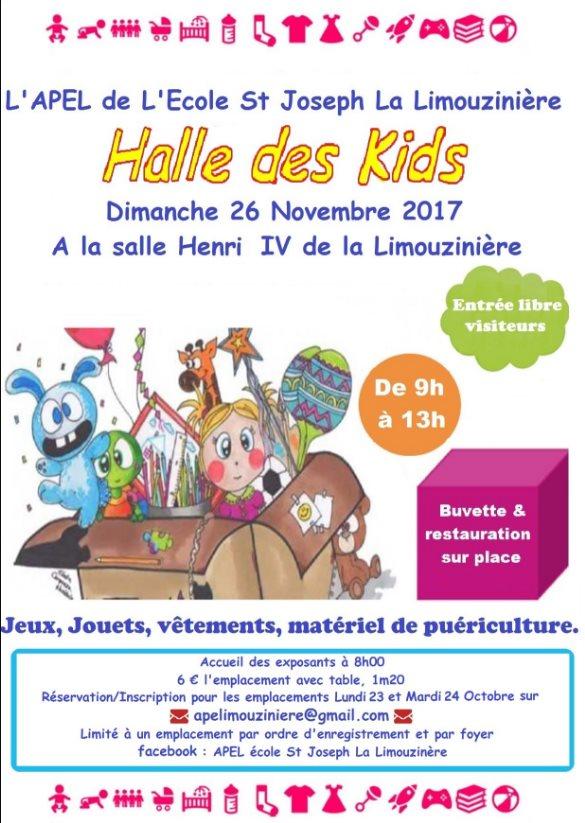 Halle des Kids @ Salle Henri IV