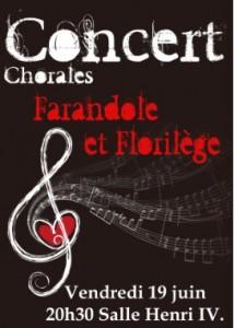 Concert Chorales @ Salle Henri IV